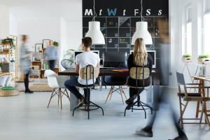 Kiedyś kusił home office, dziś coworking
