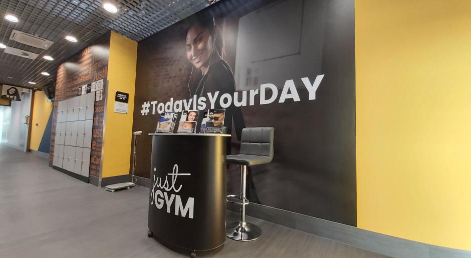 Auchan Bielany zyskało klub sieci Just GYM