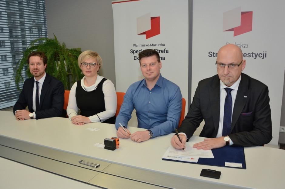 Kolejny inwestor ze wsparciem Warmińsko-Mazurskiej SSE
