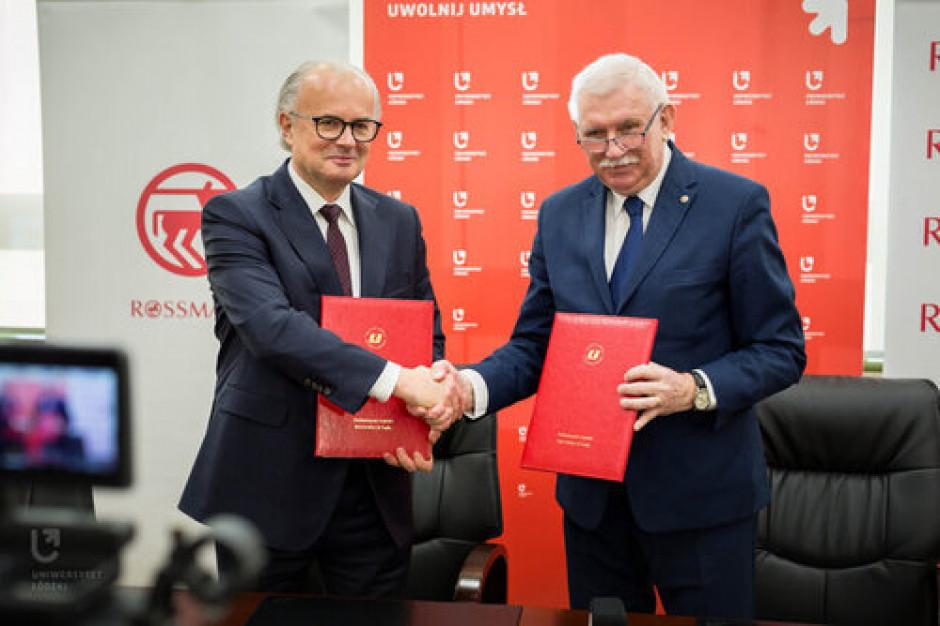 Rossmann partnerem biznesowym Uniwersytetu Łódzkiego