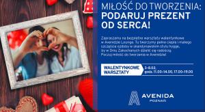 Walentynkowe warsztaty w Avenidzie
