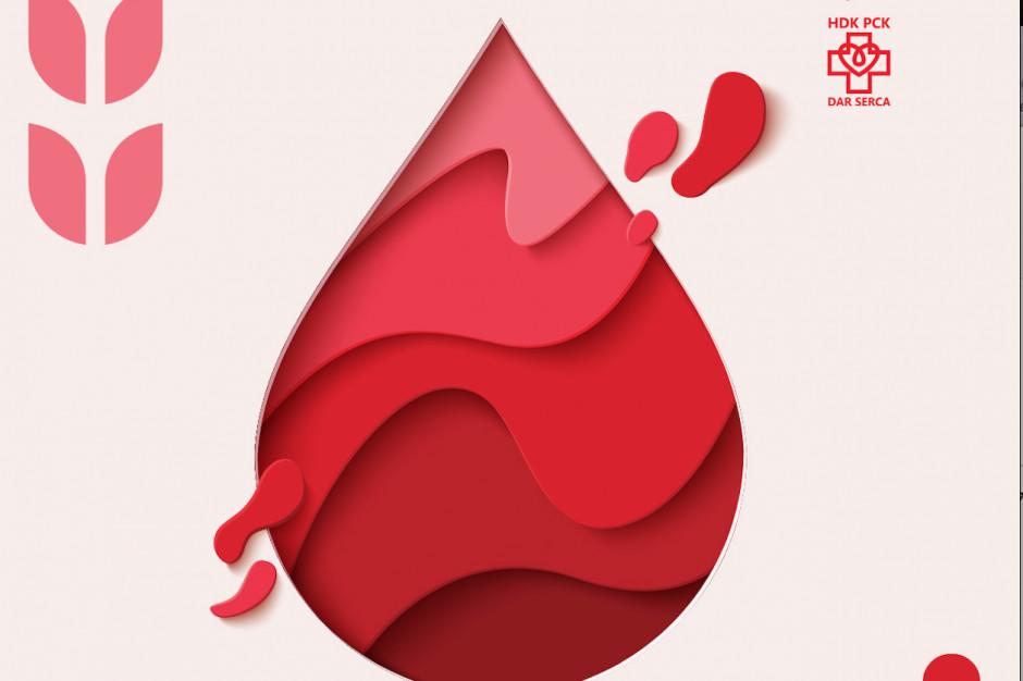 Akcja oddawania krwi w Galerii Mlociny