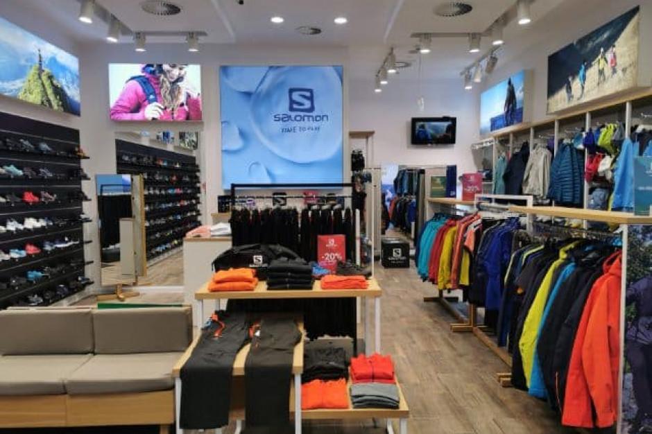 Salomon powiększył salon w Silesia City Center