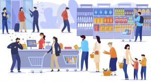 POHiD apeluje do klientów sklepów o noszenie masek podczas zakupów