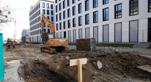 Zaglądamy na plac budowy infrastruktury w Nowym Centrum Łodzi
