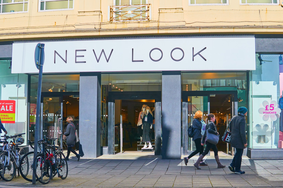 New Look chce trzymiesięcznych wakacji czynszowych