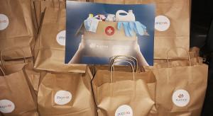 Platan i Pogoria pomagają lokalnym szpitalom
