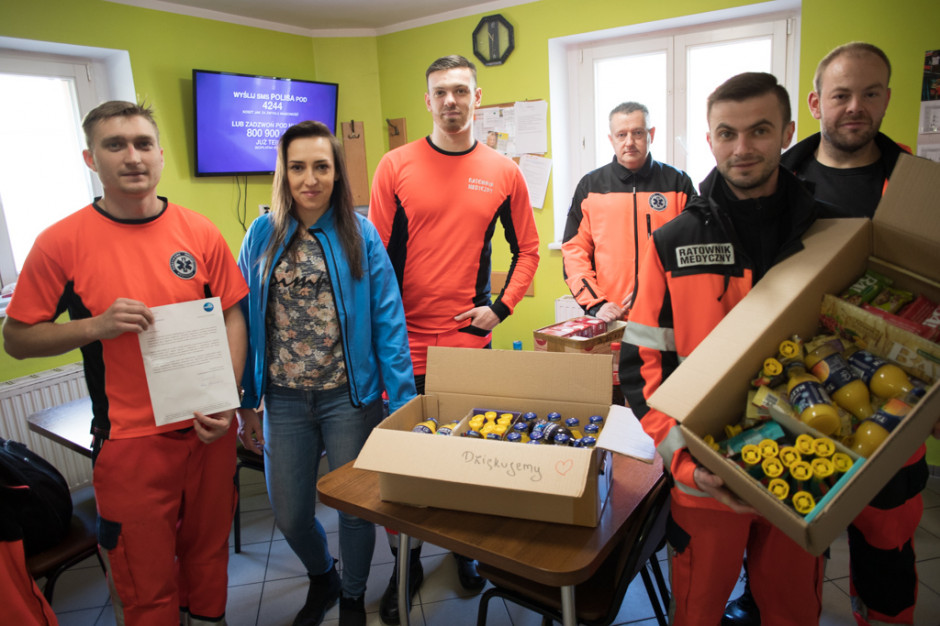 Focus Mall Zielona Góra wspiera lekarzy i ratowników medycznych