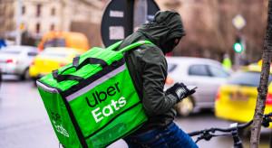 Uber Eats dowiezie zakupy w czasie epidemii