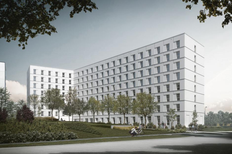Szybkie postępy prac przy budowie akademika Student Depot w Gdańsku