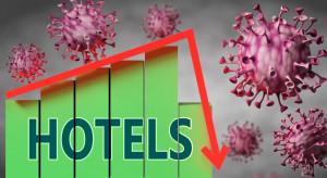 W większości hoteli w Polsce frekwencja w okolicy 10 proc.