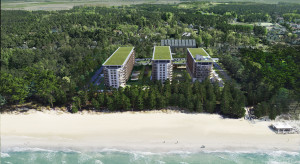 Budowa PINEA Resort & Apartments zgodnie z planem