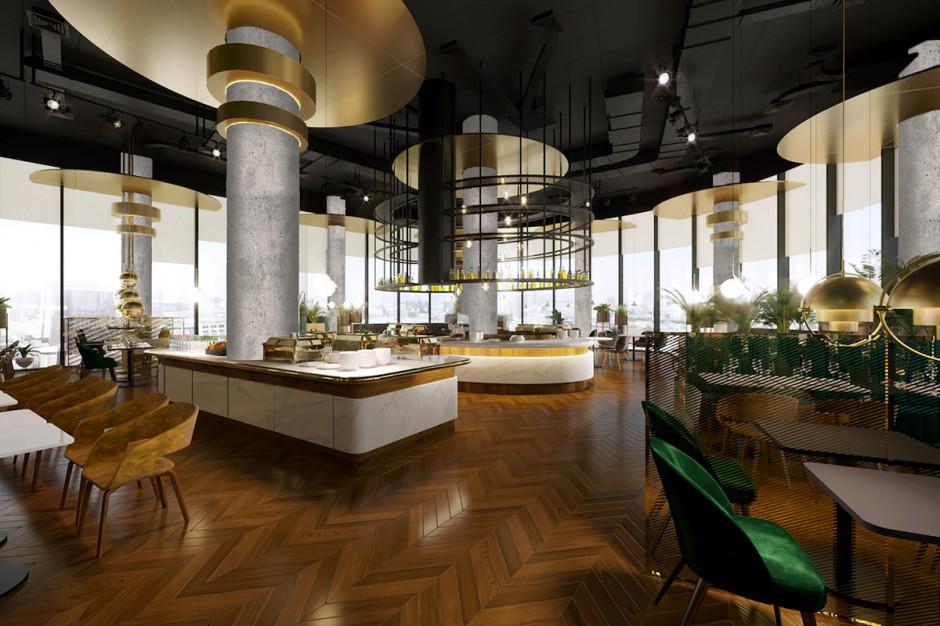 Hotele Crowne Plaza Warsaw oraz Holiday Inn Express Warsaw w The Hub z szefem kuchni
