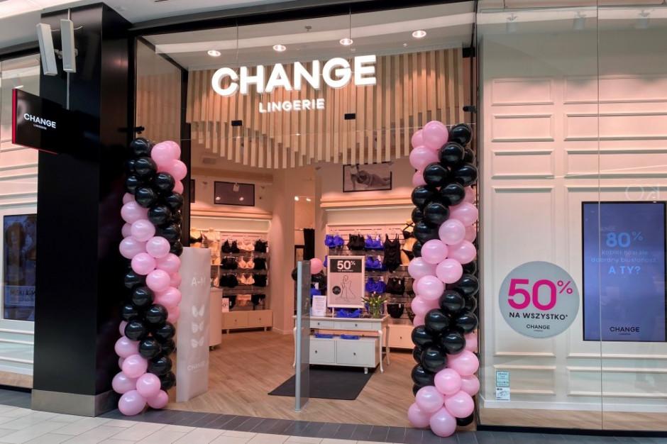 Change Lingerie otwiera nowy salon, ale  dalsza ekspansja zostaje wstrzymana