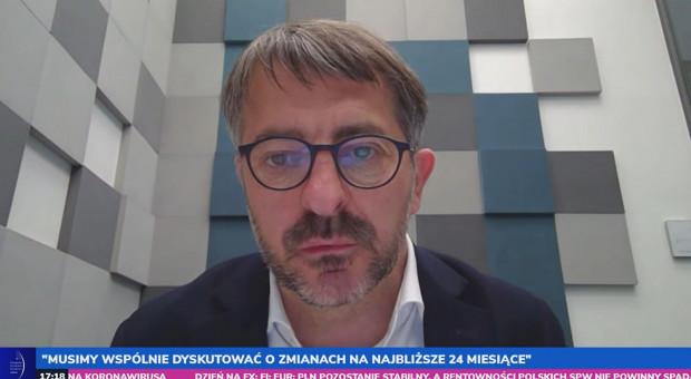Sławomir Łoboda na EEC Online: Potrzebujemy przewidywalności ustawodawczej oraz wsparcia płynnościowego