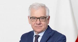 Jacek Czaputowicz nie wyklucza szybkiego otwarcia granic Polski