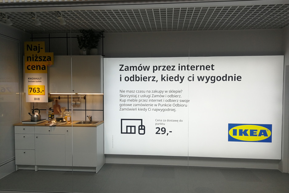 IKEA chce być bliżej klientów. Nowy punkt odbioru zamówień w Warszawie