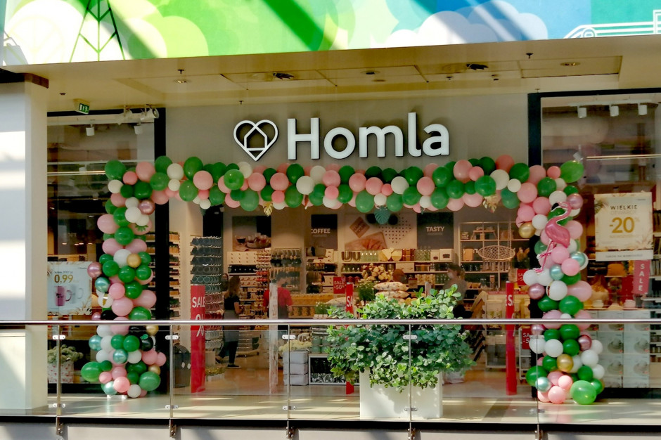 Homla otwiera salon pierwszy sklep w województwie lubuskim