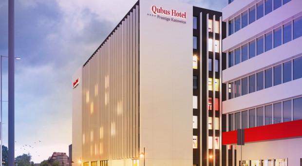 Pandemia zatrzymała budowę hotelu Qubus w Katowicach