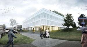 CNK powiększy się o centrum badawczo-rozwojowe. Unibep wybuduje gmach w technologii BIM