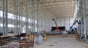 Dekpol zakończył pierwszy etap budowy nowoczesnej hali