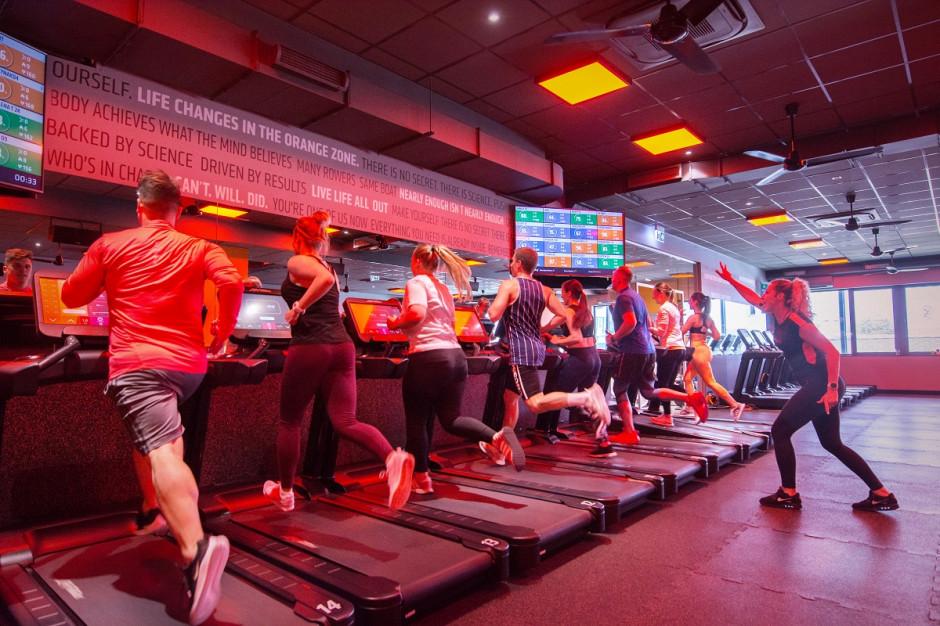 Trzeci Orangetheory Fitness w sierpniu w Klifie na Woli