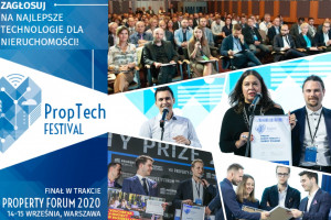 Proptech Festival 2020: Zapraszamy do kolejnego etapu konkursu!
