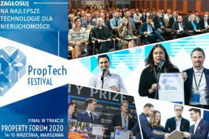 Proptech Festival 2020: Zapraszamy do kolejnego etapu konkursu!