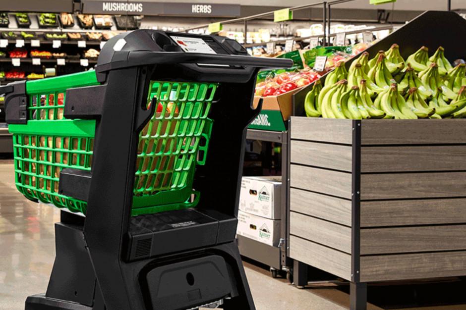 Amazon chce zrewolucjonizować zakupy. Inteligentne wózki wyeliminują kolejki do kas