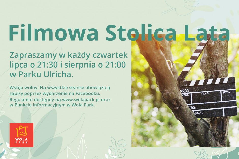 Rusza kino plenerowe przy Wola Parku