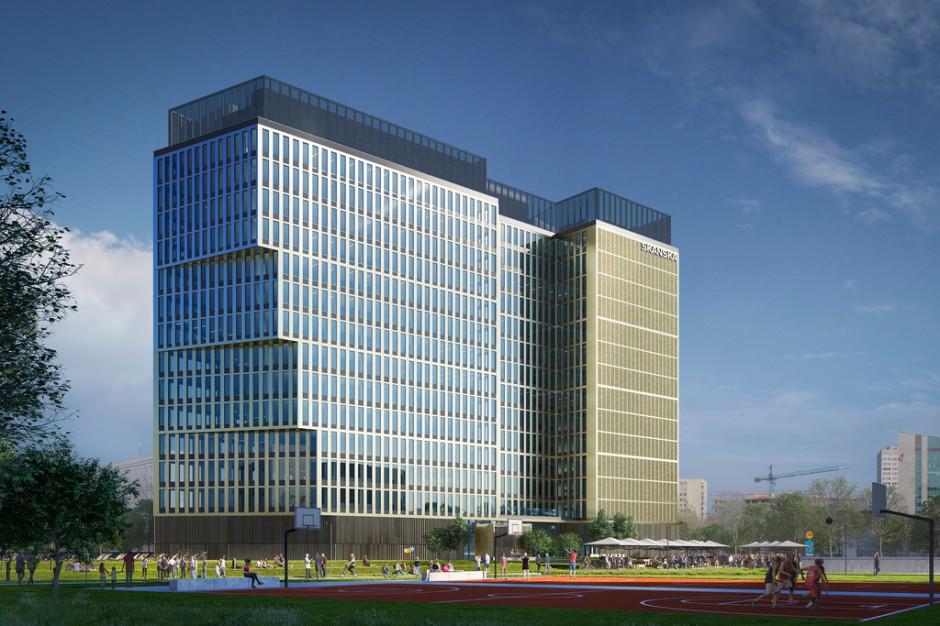 Skanska odlicza dni do startu budowy nowego biurowca w Warszawie