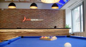 Ostre wejście Chillispaces.com. Za nowy brand odpowiada Rise.pl