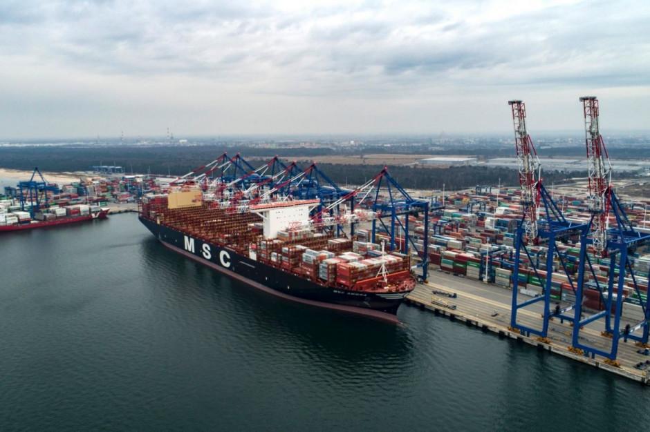 Port Gdańsk zanotował mniejsze spadki niż pozostałe porty z czołówki europejskiej