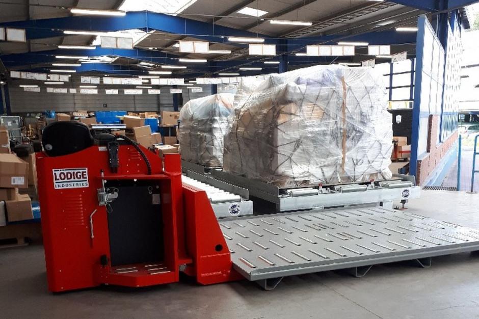 Nowe linie technologiczne w terminalu cargo przy Lotnisku Chopina