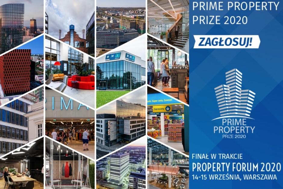 Najlepsze inwestycje, kluczowe firmy, osobowości rynku nieruchomości – oto nominacje Prime Property Prize 2020! Zapraszamy do głosowania!
