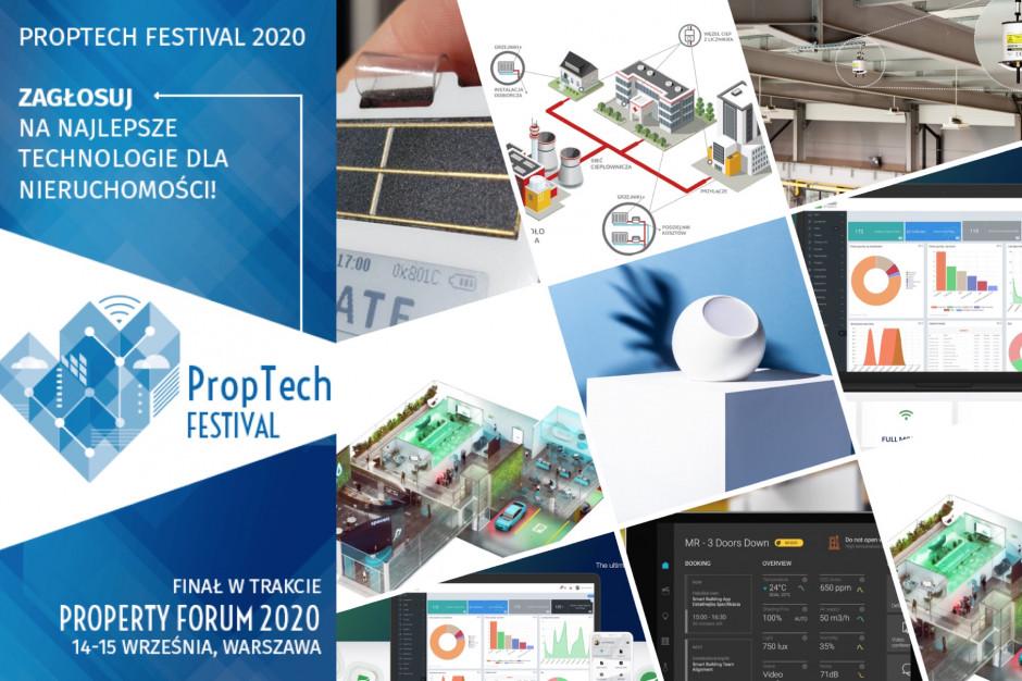 Proptech Festival 2020: Oto TOP 15 technologii i rozwiązań dla nieruchomości. Zapraszamy do głosowania!
