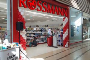 Pierwsza drogeria Rossmann w Centrum Handlowym Auchan w Gdańsku