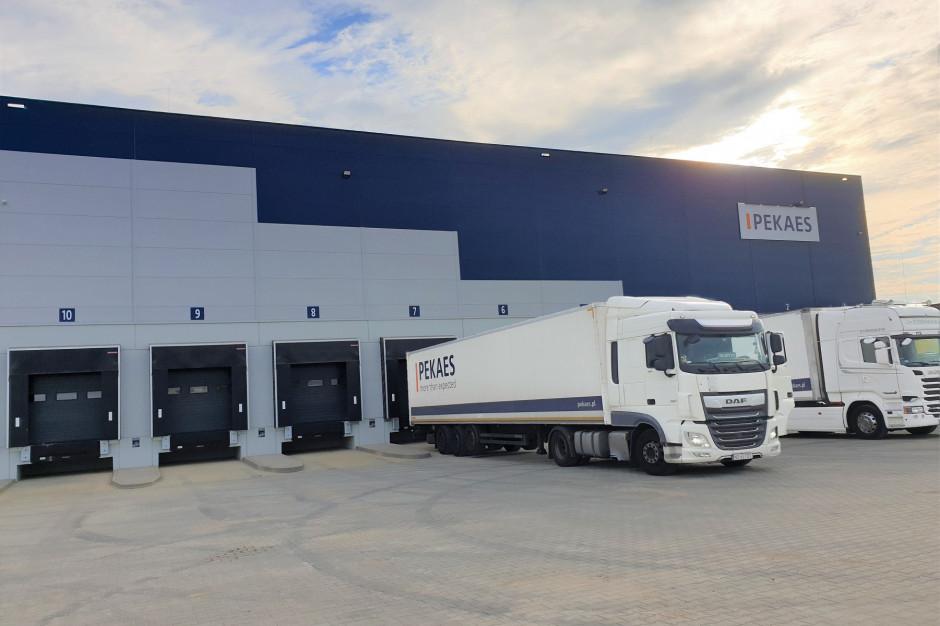PEKAES uruchomił nowoczesny terminal dystrybucyjny w Olsztynie