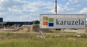 Budowa centrum handlowego Karuzela w Ełku wkracza w końcową fazę