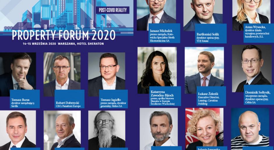 Oni będą z nami na Property Forum 2020! Zapraszamy już 14 i 15 września!