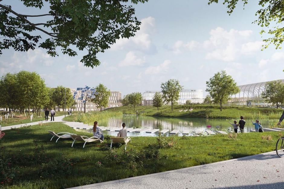 Wilanów Park w jednym z kluczowych etapów inwestycji