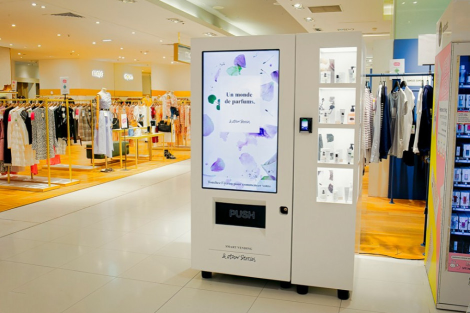 H&M testuje maszyny vendingowe