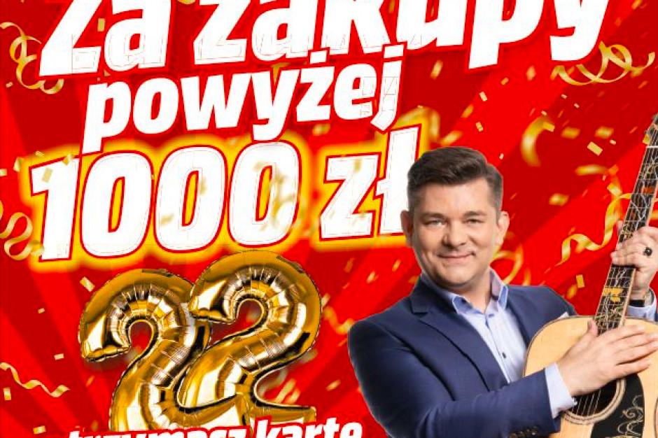 Zenek Martyniuk twarzą kampanii urodzinowej MediaMarkt