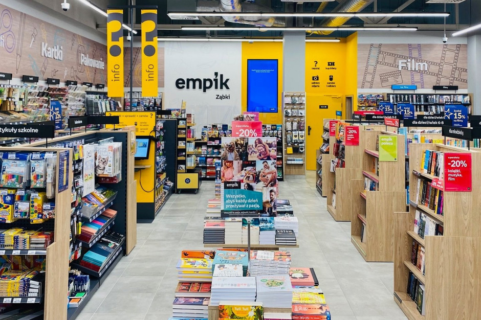 Empik otworzył salon w retail parku pod Warszawą