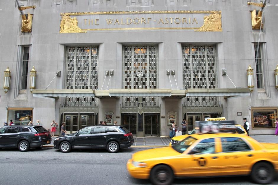 Wyposażenie hotelu Waldorf Astoria idzie pod młotek