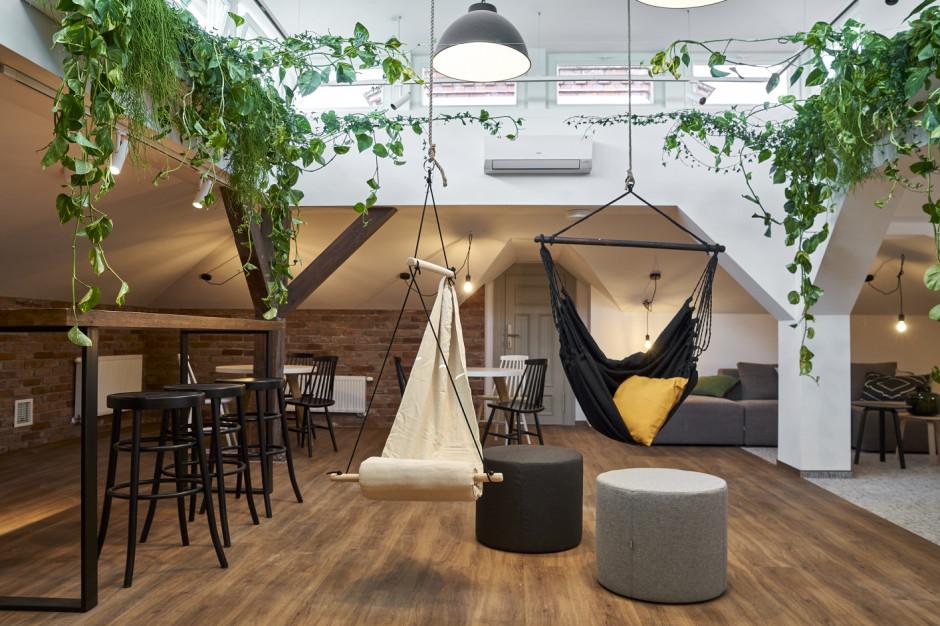 Na terenie dawnej Stoczni Gdańskiej powstał coworking w loftowych przestrzeniach