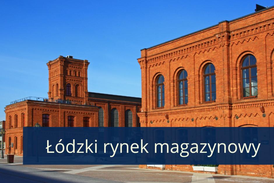 Spadek o 83 proc. budowanej powierzchni magazynowej w Łodzi