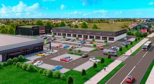 Nowy park handlowy na planie Warki