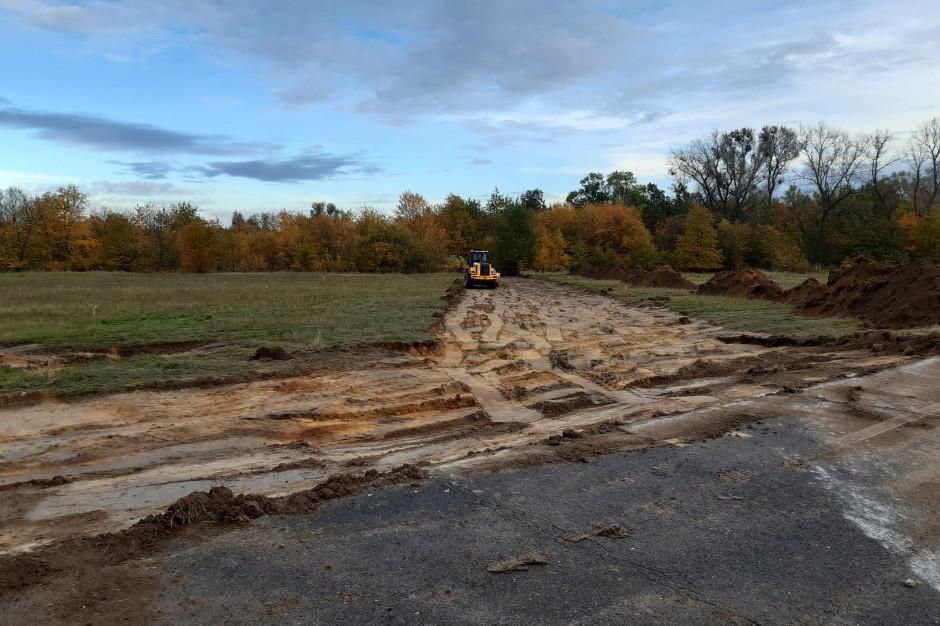 Budimex buduje obwodnicę przy terenach inwestycyjnych w Olśnicy