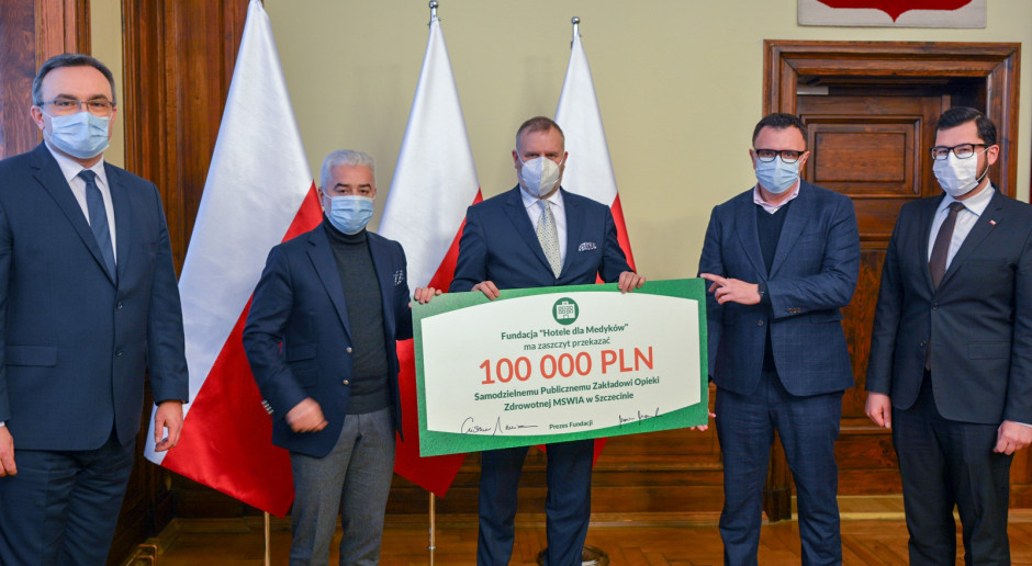 Hotele dla Medyków z pomocą dla szpitala w Szczecinie